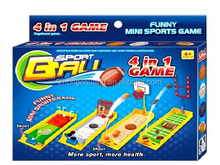 New Design of outdoor sport toys 4 in 1 set