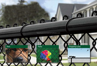 heavy duty galvanized cheap 6 foot used chain link fence (direct factory)