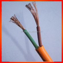 pvc/rubber insulated cable Super Flexible Rubber cable