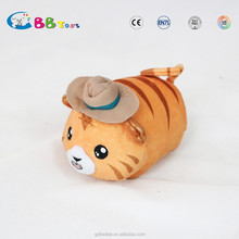 2015 new ideal tiger plush pillow stuffed animal dolls for sales