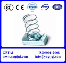 High quality white zinc plated spring nut