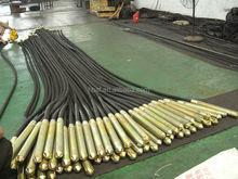 Zn38-4m vibrante tubo, flessibile tubo della pompa per calcestruzzo
