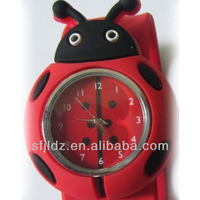 Kids Cartoon Watch With Silicone Rubber Silicone chocolate watch