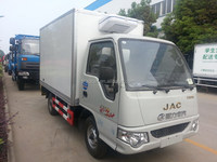 Excellent quality promotional food jmc refrigerated van for sale