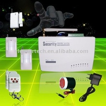 English Voice prompt Wireless Alarm Security with SMS(LS-GSM-004)