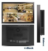 55 inch industrial lcd cctv monitor with vga av hdmi dvi input