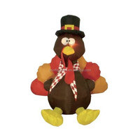 6 Foot Thanksgiving Inflatable Turkey/inflatable decoration