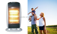 1200winfrared electric halogen heater for bedroom and bathroom