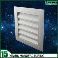 Ventilation wall exhaust air aluminum louver frame window