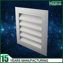 Ventilation wall exhaust air aluminum louver frame window