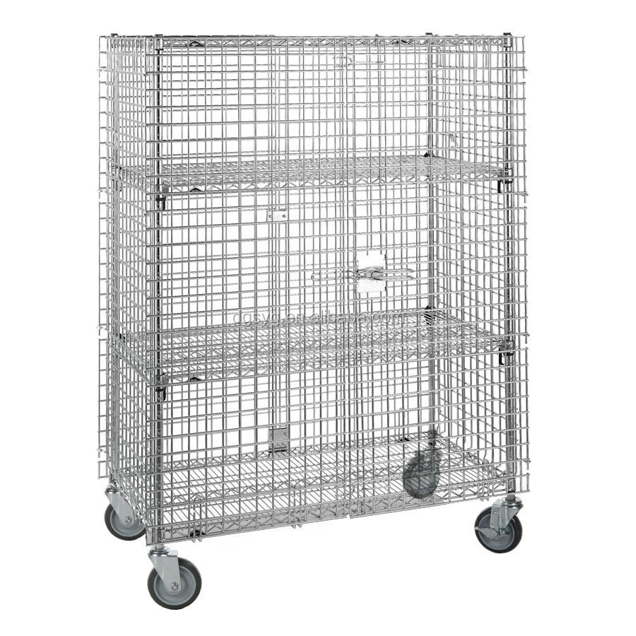 304 Stainless Steel Mobile Security Cage - Buy Security Cage ...