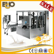 CE Approved top 3 best value manufacturer rotary Carousel type Preformed pouch feeding full auto kimchi filling machine
