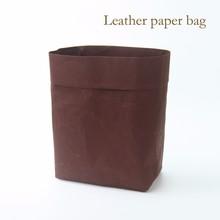 Suho recycle custom wine red waterproof paper bag