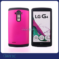 Rugged hybrid combo shockproof armor cell phone plastic cover for LG G4