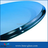 3-19mm Clear Table top Tempered Glass with ISO9001/SGS/CE