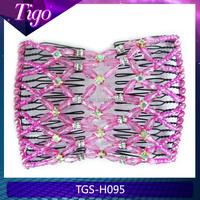 Wholesale handmade elastic double hair comb for women