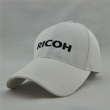 Custom Plain White Promotion Sports Baseball Cap