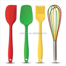 Cooking Utensils Gift Set 4 Silicone Kitchen Tools