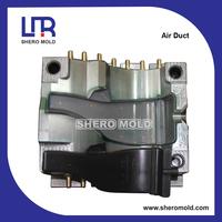 automobile parts blow mould for air duct