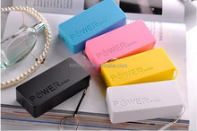 Credit Card Power Bank 5600mAh Portable Mobile Phone Charger source KD-038A