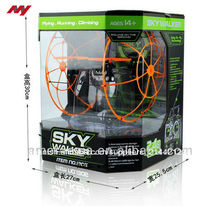 2.4g 4 eje de aeronaves, rc sky walker