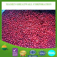 IQF Frozen lingonberry( cowberry)