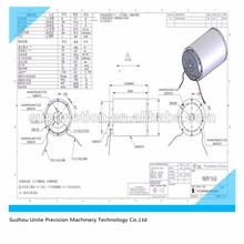 Imán permanente síncrono eléctrico motor de corriente continua motor