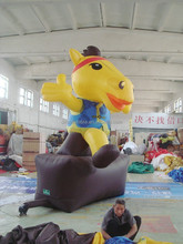 customized new style giant inflatable horse for decoration