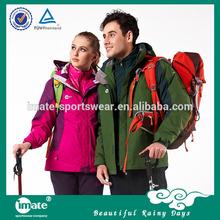 De alta calidad de chaqueta al aire libre/chaqueta a prueba de agua/chaqueta