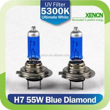 XENCN H7 12V 55W 5300K Xenon Ultimate Blue Diamond Light Car Bulb Halogen auto fog lamp