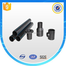 Butt and electrofusion joint connection hdpe pipe and fittings