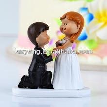 western porcelain cake topper for wedding cakes