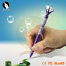 Jiangxin 2014 new metal silver roller pen with led