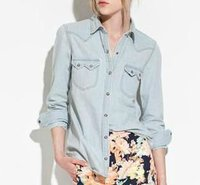 Europe style fashion lady's jeans tops