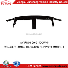 Radiator support down repalced RENAULT LOGAN parts auto parts