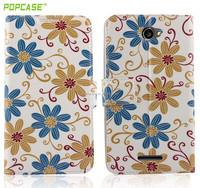 flip cover mobile phone case for sony e4
