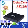 fta hd receiver 1080p EKB388 octa core android 5.1 lollipop smart tv box