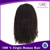 Wholesale beauty supply lace front kinky straight halloween remy half wigs