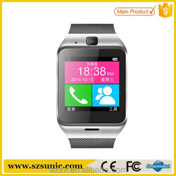 2015 u10 smart watch with 1.54'' touch display smart phone watch