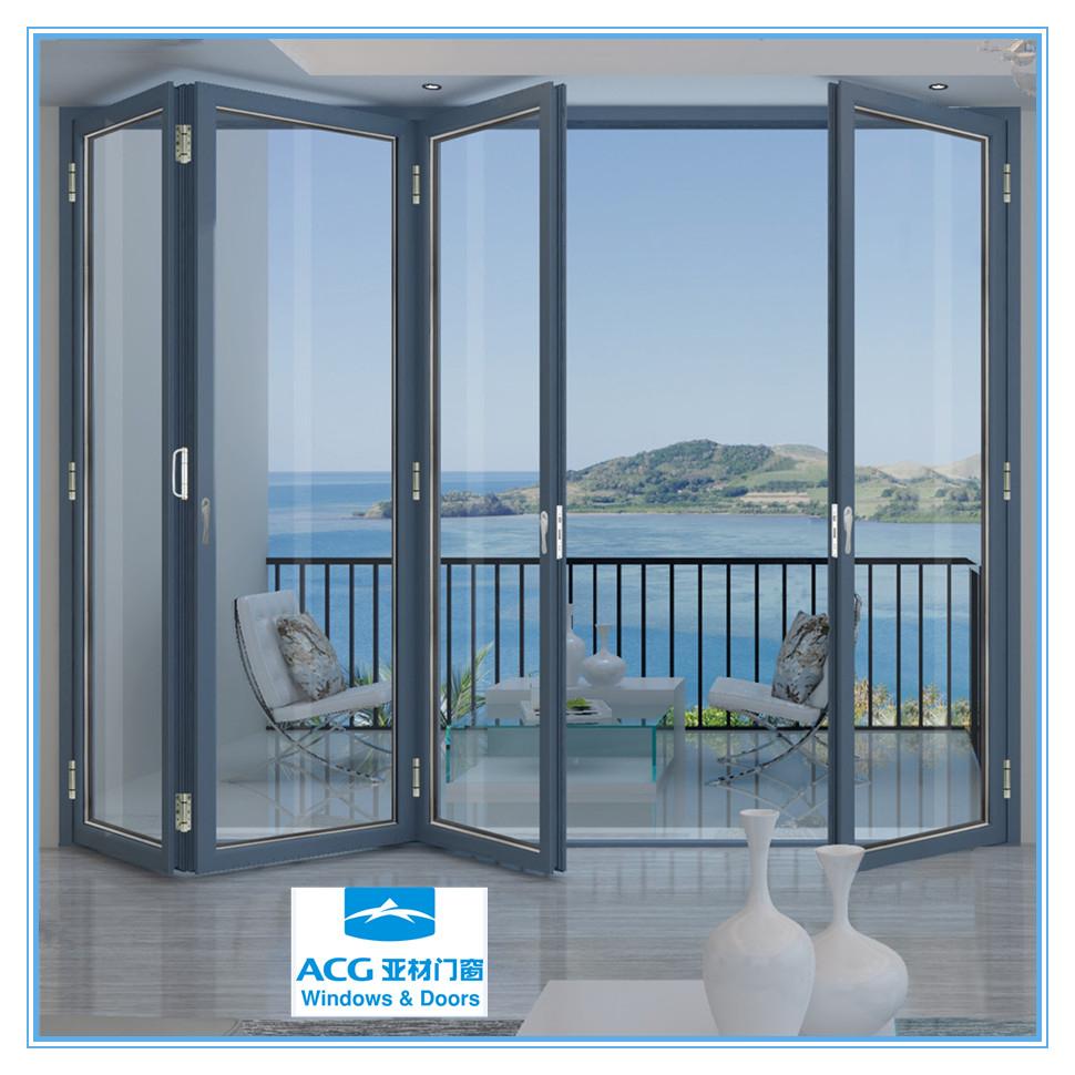 Aluminium Doors Product : Custom made aluminum sliding folding doors
