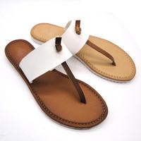 Stylish PU 2013 men eva printing flip flops slippers sandals