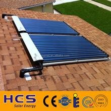 2015 Solar keymark SRCC heat pipe tube parabolic Solar thermal Collector panel