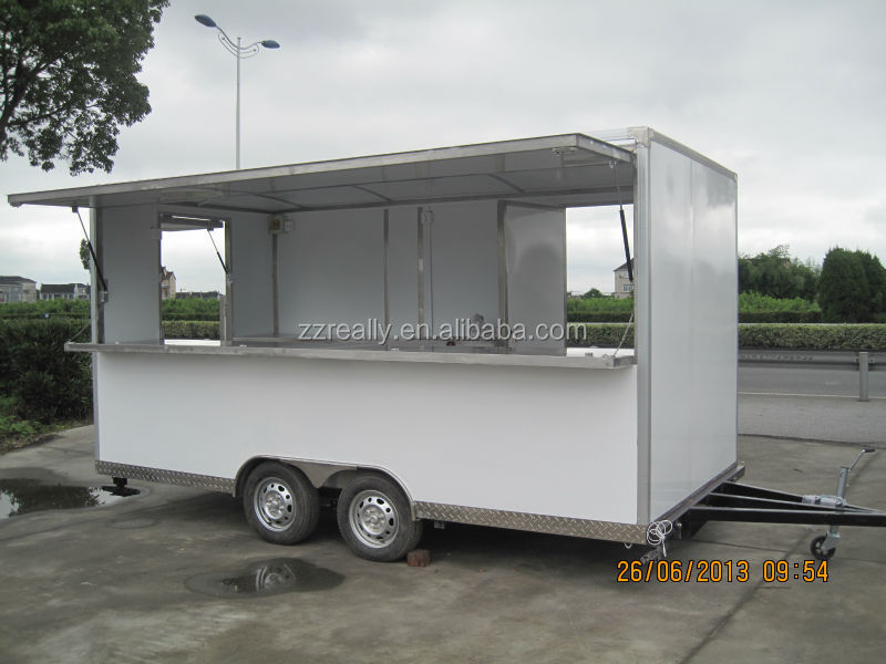 Latest Products Mobile Food Trailer Food Truck Food Van On