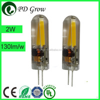 3 years warranty G4 LED Filament Light Bulb 12V AC/ DC 1.5w led focus light new filament bulbs led