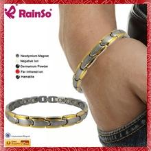 New York Jets Logo titanium mens braided rope bracelets