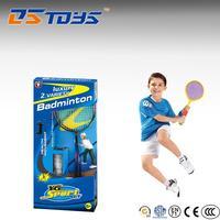 Shantou toy plastic cheap badminton rackets for kid