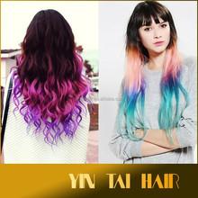 China wholesale wig ponytail 100% Indian remy wrap around human hair ponytail.