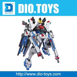609PCS loz nano blocks toy super hero plasitc building blocks loz cool design figure toys