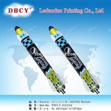 Inflável foguete balão brinquedos de importação da China