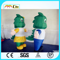 CILE 2015 hot selling customized inflatable lovely dinosaur cartoon model